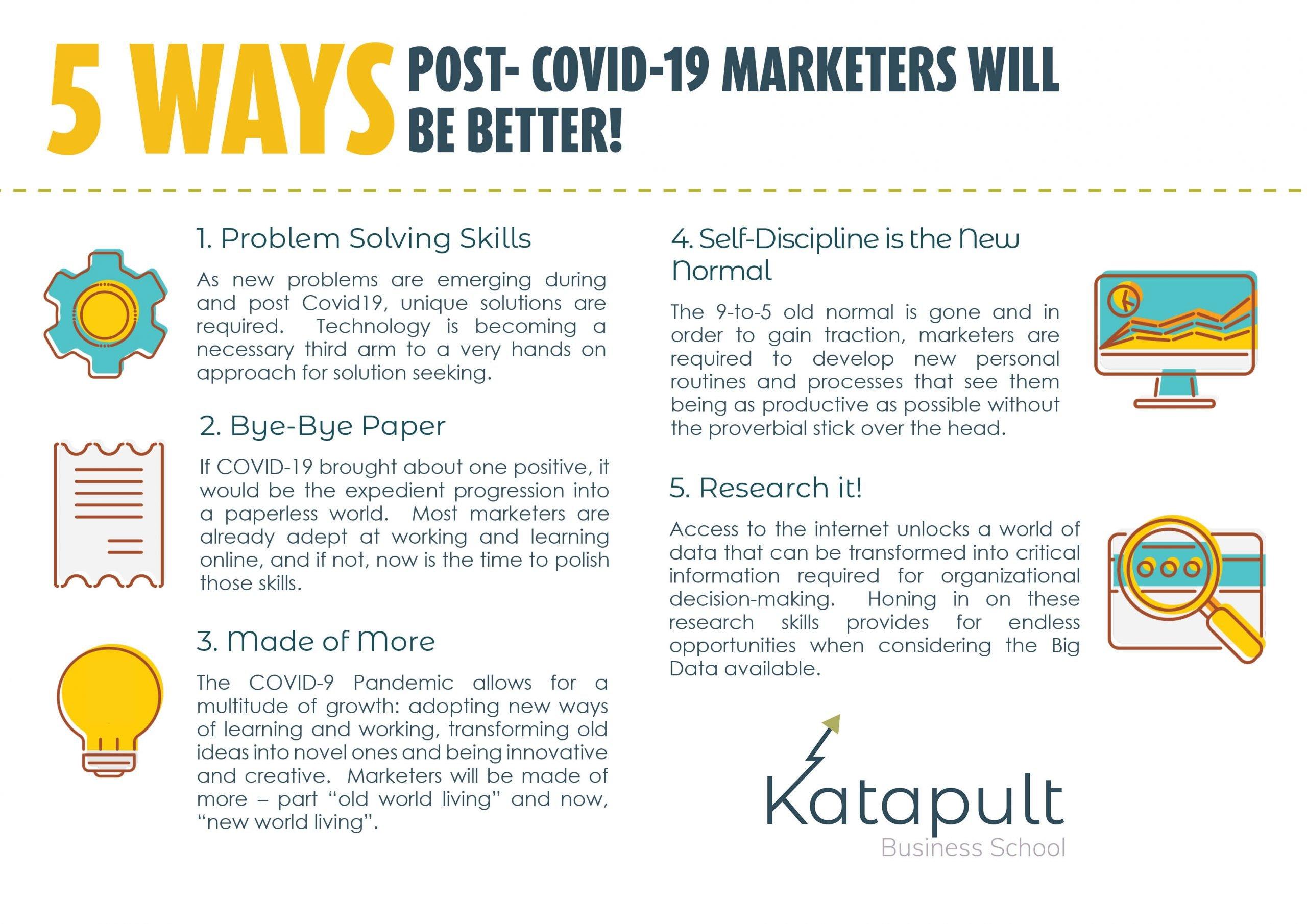 Marketing skills post COVID-19